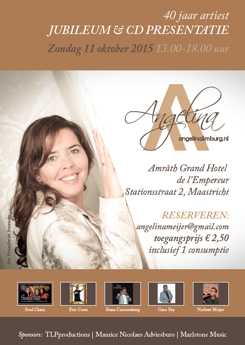 Poster CD presentatie 11 oktober